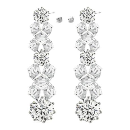 Kolczyki z kryształami Swarovski   EJE165 (1)