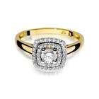Pierścionek złoty z diamentami W-345 0,50ct   EJR138 (2)
