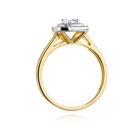 Pierścionek złoty z diamentami W-345 0,50ct   EJR138 (3)