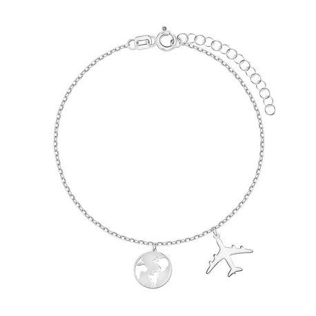 Bransoletka srebrna, oryginalne charmsy   EJB105 (1)